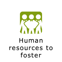 Human resources to foster